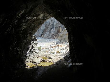 素掘りトンネルの素材 [FYI00201488]