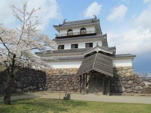 宮城県の白石城の写真素材 [FYI00201522]