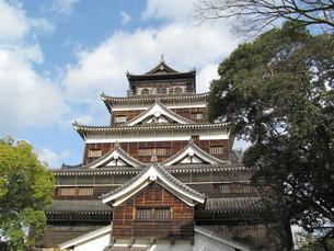 広島城の写真素材 [FYI00201588]