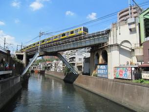神田川と総武線の写真素材 [FYI00201731]