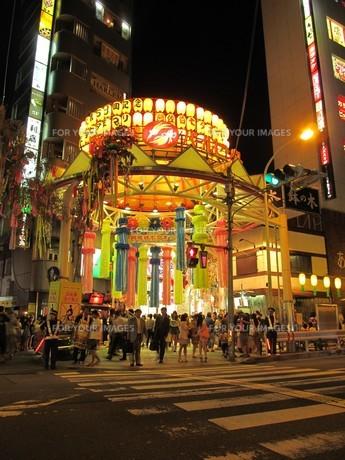 阿佐ヶ谷パールセンターの七夕祭りの写真素材 [FYI00201822]