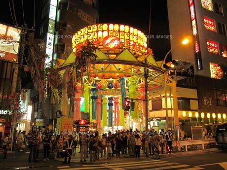 阿佐ヶ谷の七夕祭りの写真素材 [FYI00201826]