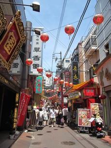 横浜中華街の写真素材 [FYI00201899]
