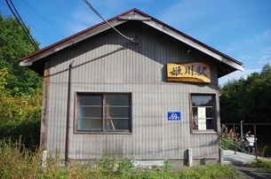 姫川駅の写真素材 [FYI00201930]