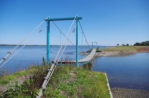 サロマ湖のつり橋の素材 [FYI00201943]