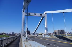 葛西橋の写真素材 [FYI00201990]