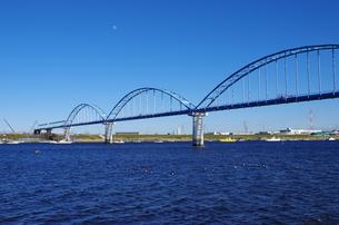 水道の橋の写真素材 [FYI00202003]