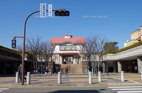 田園調布駅前の素材 [FYI00202026]