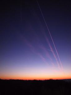 ドイツの朝焼け2の写真素材 [FYI00202228]