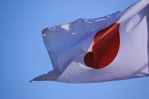 日本国旗の写真素材 [FYI00202307]