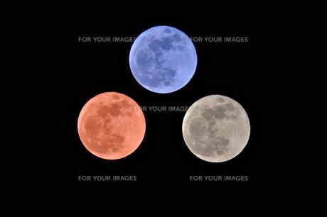 満月の写真素材 [FYI00202320]
