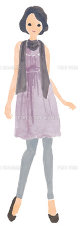 ファッション女性の写真素材 [FYI00202450]