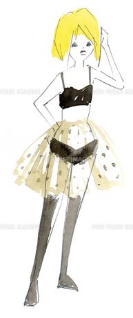 ファッション女性の写真素材 [FYI00202466]