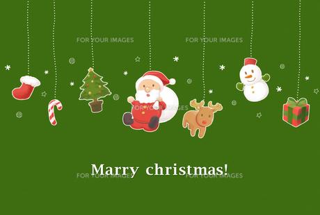 クリスマスカードの写真素材 [FYI00202757]
