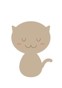 ネコの案内(おじぎ)の写真素材 [FYI00202776]