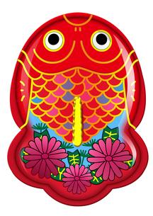 ブリキ金魚のおもちゃシリーズ(華花)の素材 [FYI00202777]