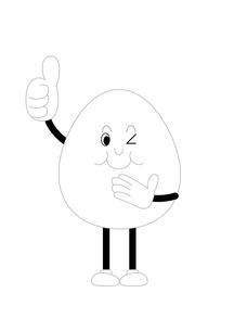 卵タマゴの案内(おすすめ)の写真素材 [FYI00202790]