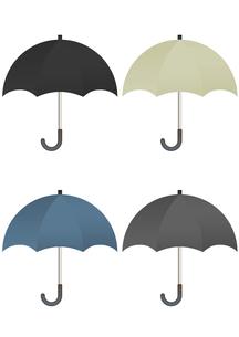 カラフルな傘のイラストの写真素材 [FYI00202796]