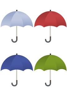 カラフルな傘のイラストの写真素材 [FYI00202805]