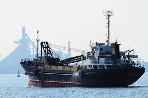 働く船の写真素材 [FYI00202815]