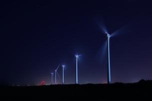 風力発電の写真素材 [FYI00202877]