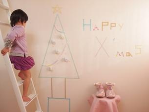 クリスマスデコレーションの写真素材 [FYI00203234]