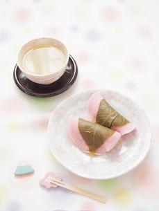 桜餅の写真素材 [FYI00203250]