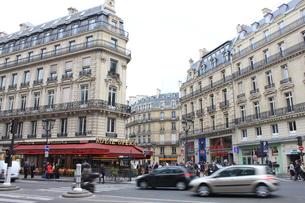 パリのの風景の写真素材 [FYI00203694]