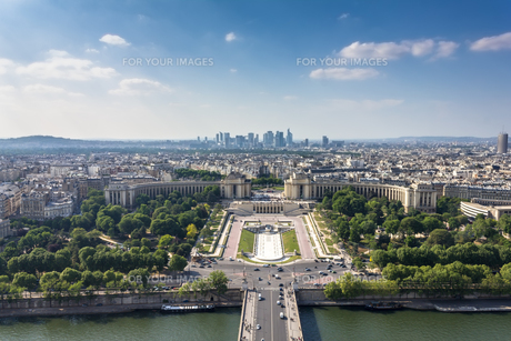 パリの風景の写真素材 [FYI00203711]