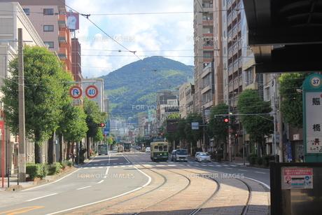 長崎の何気ない風景の写真素材 [FYI00203773]