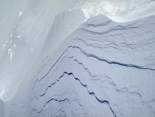 雪の造形の写真素材 [FYI00203897]