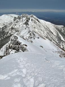 厳冬期八ヶ岳の写真素材 [FYI00203904]
