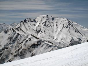 後立山連峰の写真素材 [FYI00203912]