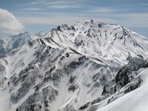 後立山連峰の写真素材 [FYI00203918]