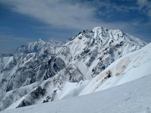 後立山連峰の写真素材 [FYI00203923]