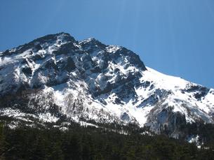 冬の八ヶ岳連峰の写真素材 [FYI00203949]