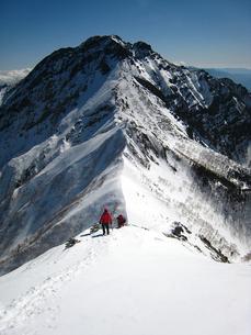 雪山登山の写真素材 [FYI00203951]