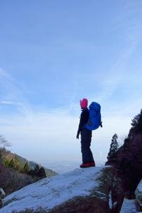 冬山登山の素材 [FYI00204128]