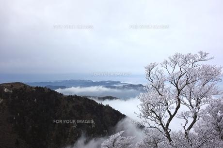 冬の御在所岳から三重県側の素材 [FYI00204134]