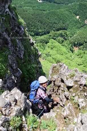 八ヶ岳クライミングの写真素材 [FYI00204165]