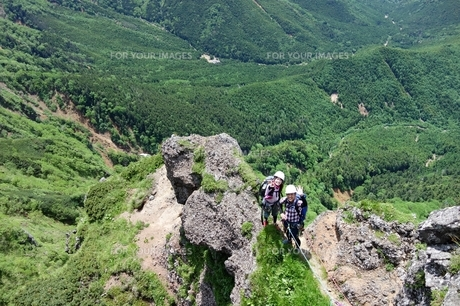 八ヶ岳クライミングの写真素材 [FYI00204173]