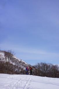 スノーシュー登山の素材 [FYI00204195]