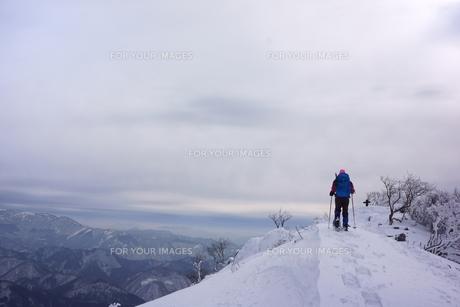スノーシュー登山の素材 [FYI00204209]