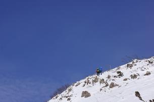 スノーシュー登山の素材 [FYI00204213]