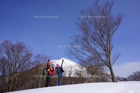 スノーシュー登山の素材 [FYI00204247]