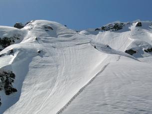 春の白馬岳登山の素材 [FYI00204450]