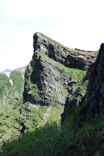 夏の八ヶ岳(大同心)の写真素材 [FYI00204461]