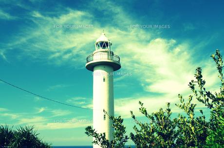 南の島の灯台の素材 [FYI00204632]