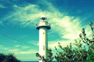 南の島の灯台の写真素材 [FYI00204632]