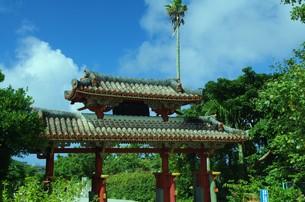 琉球の門の写真素材 [FYI00204636]